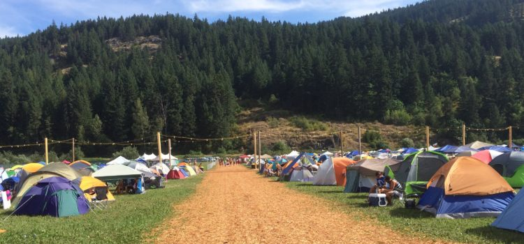 Comfortable Festival Camping