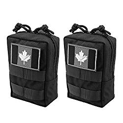 Top Molle Pouches Tactical Kit (2 pack) Amazon's Choice